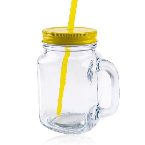 Trinkglas mit Henkel