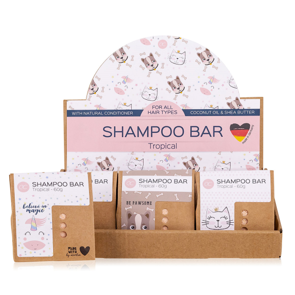 Festes Shampoo (Shampoo bar) BEST FRIENDS