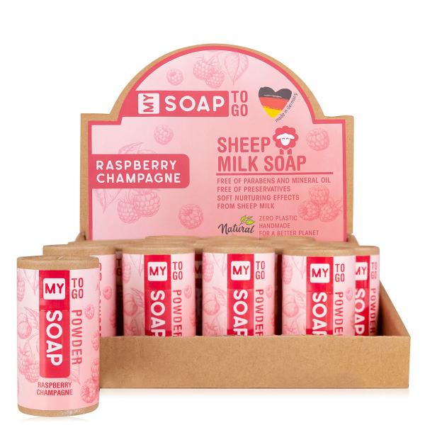 MY SOAP TO GO Schafmilchseife Pulverform