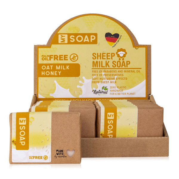 MY SOAP PALM OIL FREE Hafer-Milch-Honig
