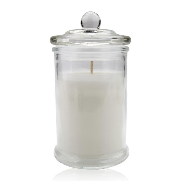 Duftkerze in Glas mit Deckel, 230g