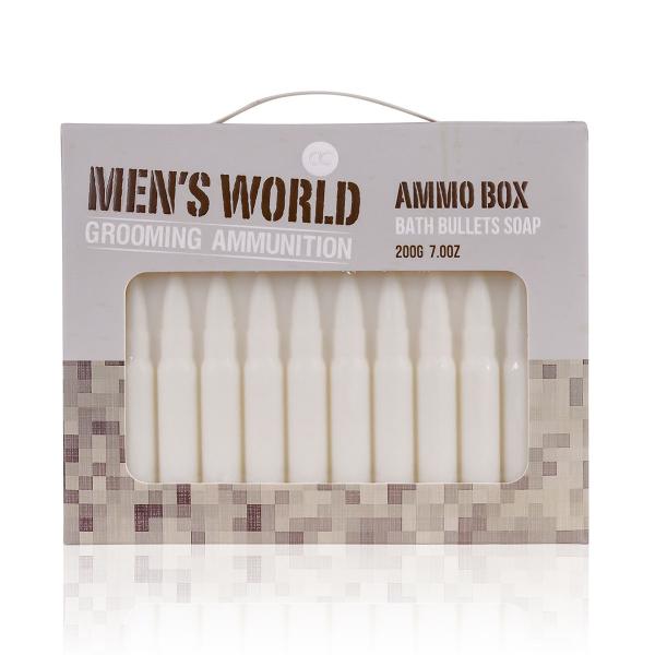 Seife MEN'S WORLD in Munitionform