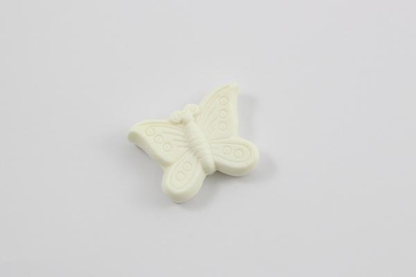 Seife Schmetterling weiß