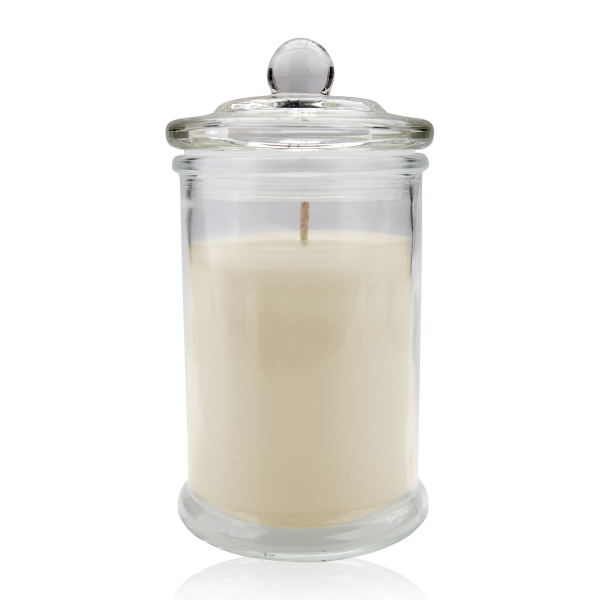 Duftkerze in Glas mit Deckel 230g