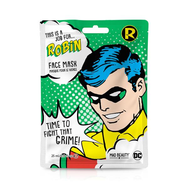 Gesichtsmaske DC SUPERHEROES - ROBIN
